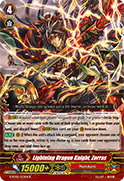 Lightning Dragon Knight, Zorras