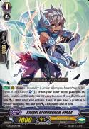 Knight of Influence, Ornas
