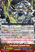Storm Dominator, Commander Thavas