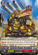 Explosive Dragon, Sarcoblaze