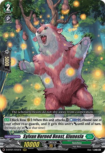 Sylvan Horned Beast King, Glunosia