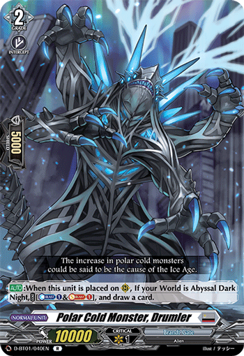 Polar Cold Monster, Drumler
