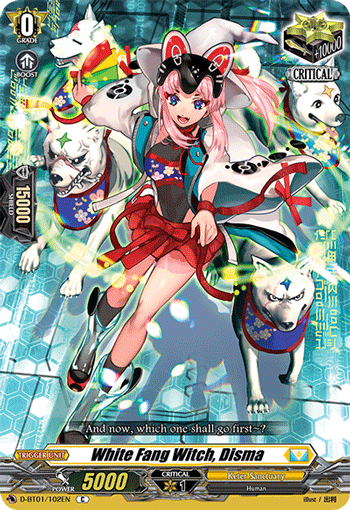 White Fang Witch, Disma