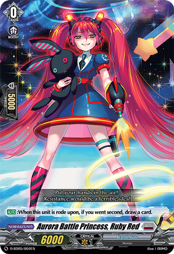 Aurora Battle Princess, Ruby Red