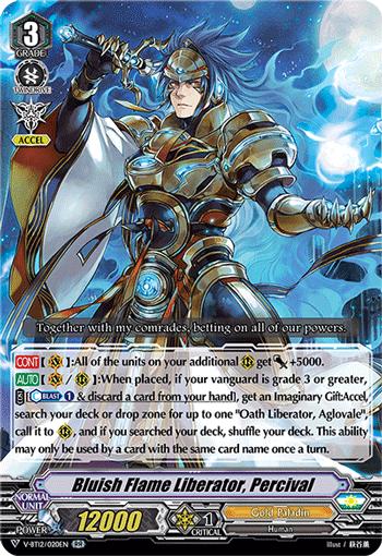 Bluish Flame Liberator, Percival
