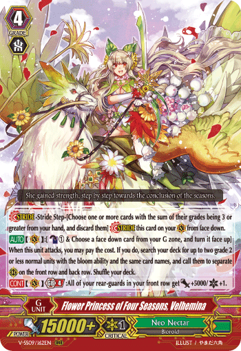 Flower Princess of Four Seasons, Velhemina