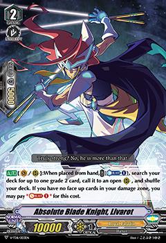 Absolute Blade Knight, Livarot