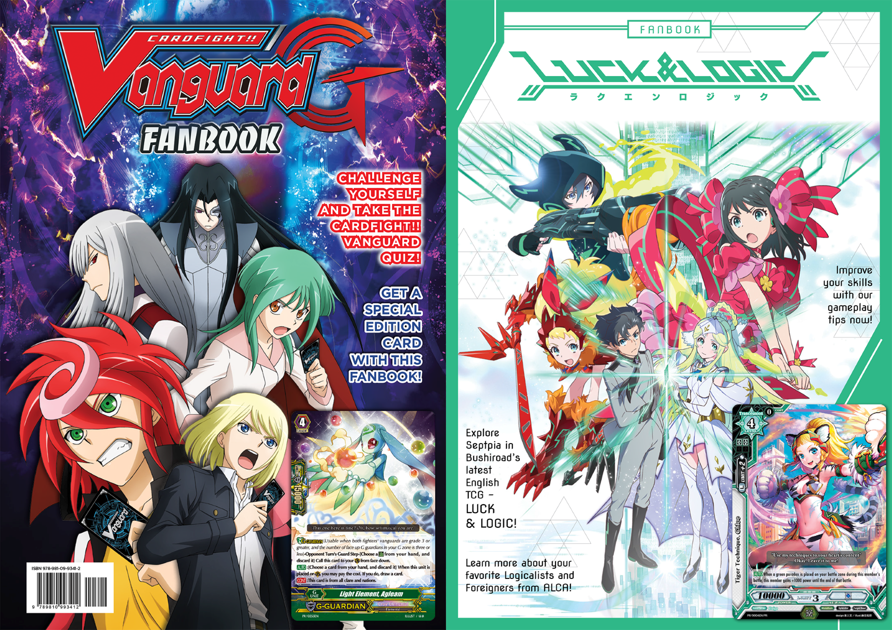 This Year, We Are Going To Have The 3rd Fanbook! This Fanbook Will Be A  Collaboration Between Luck & Logic, The New Tcg From Bushiroad, And  Cardfight!!