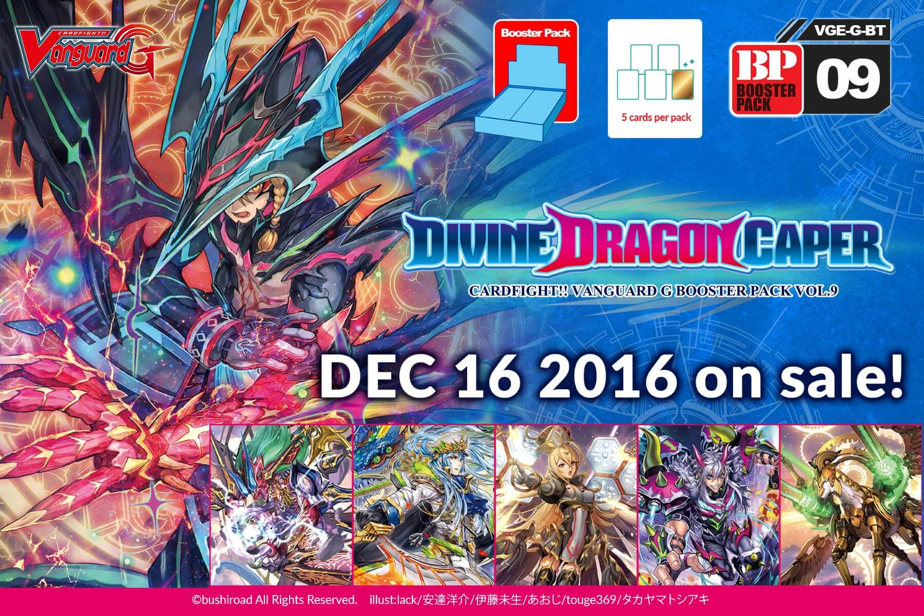 [G-BT09] Divine Dragon Caper