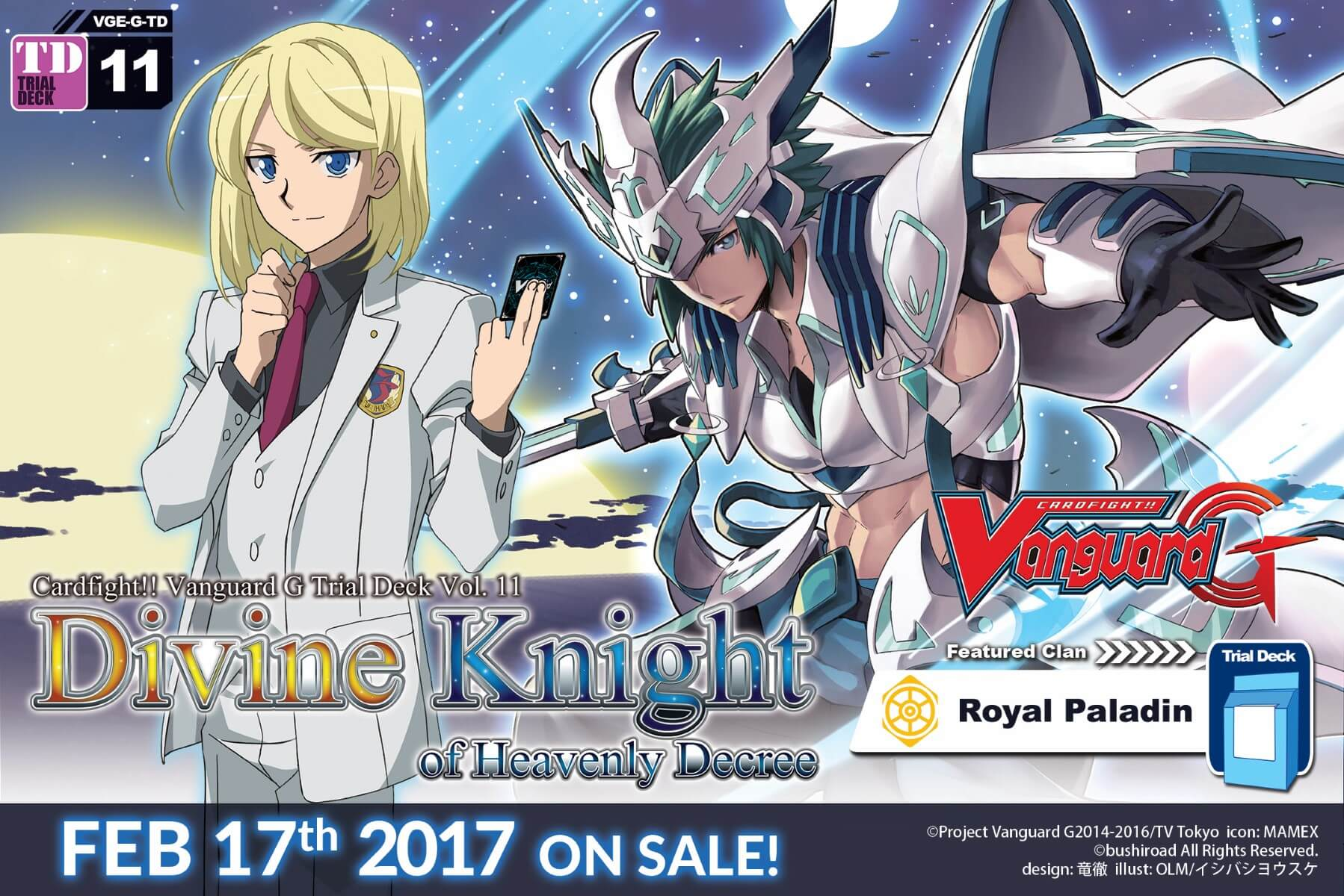 [G-TD11] Divine Knight of Heavenly Decree