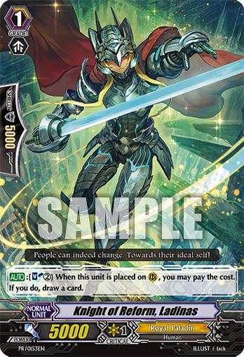 Knight of Reform, Ladinas