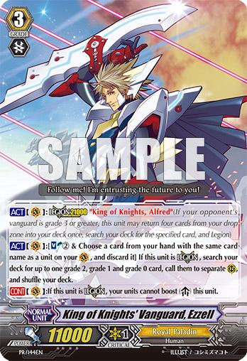 PR/0144EN King of Knights' Vanguard, Ezzell