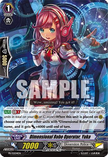 Dimensional Robo Operator, Yuka