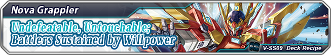 Deck Recipe Undefeatable, Untouchable; Battlers Sustained by Willpower
