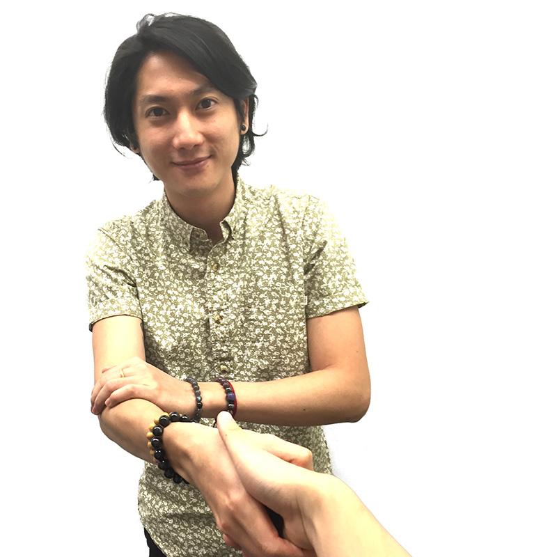Offer a handshake