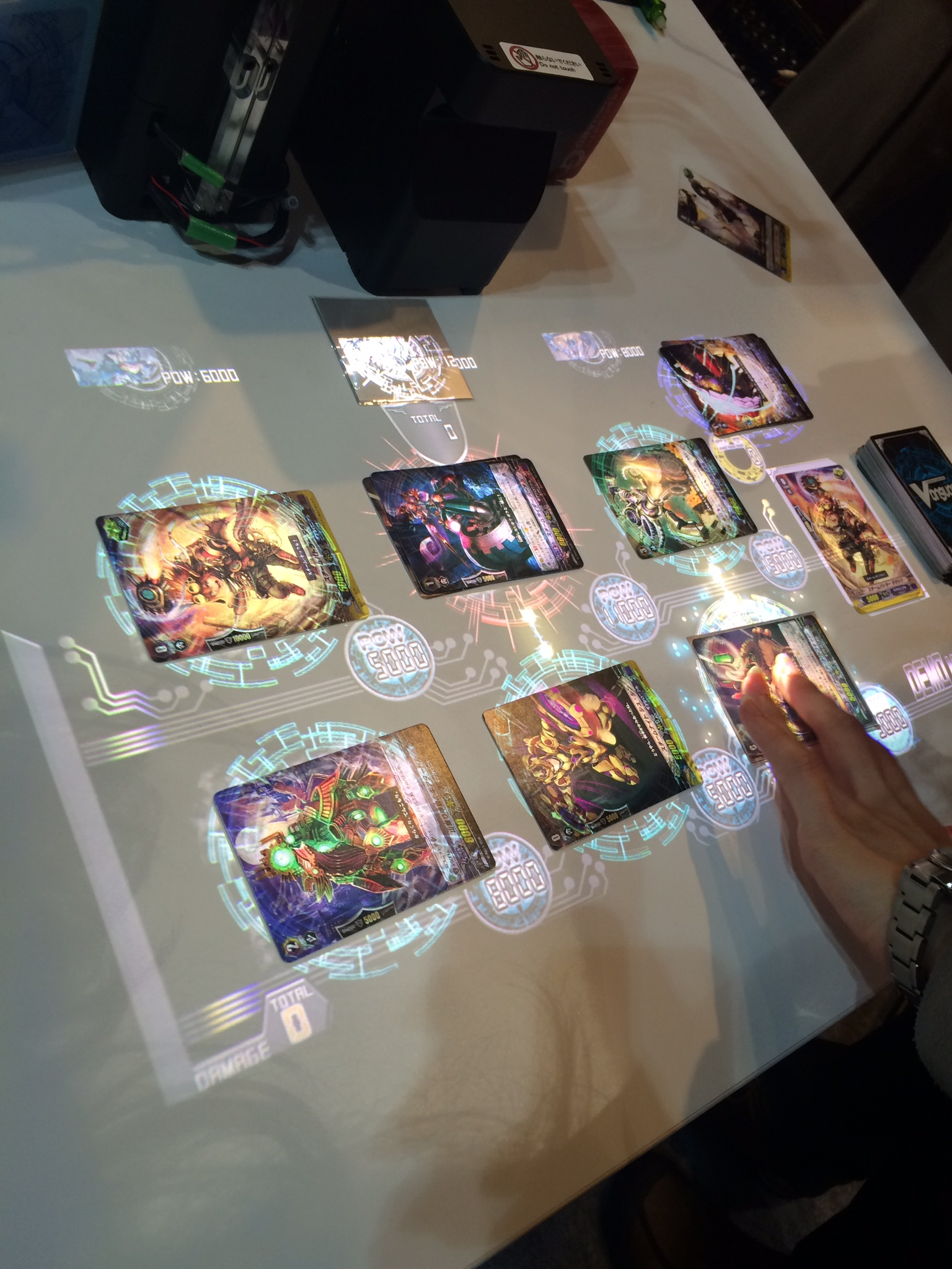 Cardfight Table G