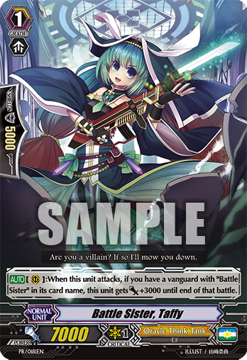 PR/0181EN Battle Sister, Taffy
