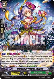 PR/0182EN Maiden of Flower Screen
