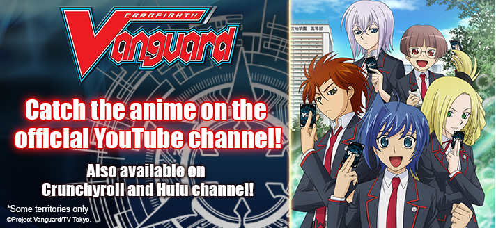 Catch the anime on the official YouTube Channel!